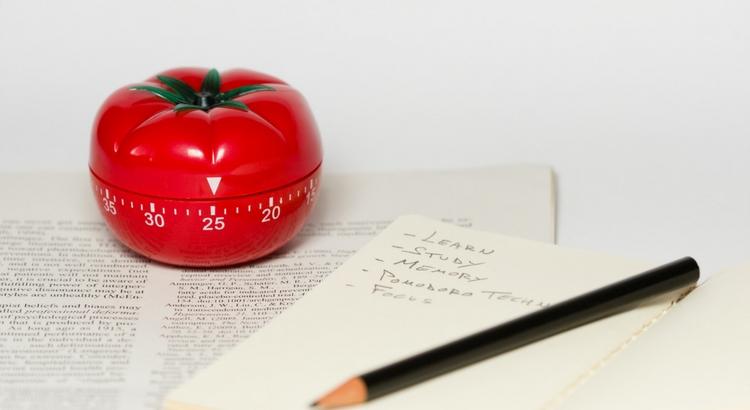 Imagem do cronômetro em formato de tomate [Pomodoro - Como aumentar sua produtividade]
