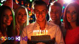 Parabéns Visual Studio! Feliz Aniversário!