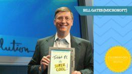 Bill Gates (Microsoft) – Celebridades Digitais