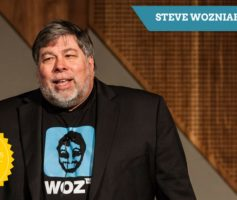 Steve Wozniak (Apple) – Celebridades Digitais