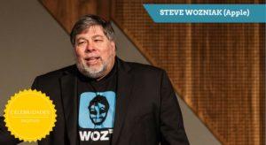 Steve Wozniak (Apple) – Celebridades Digitais