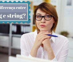 Qual a diferença entre String e string em C#?