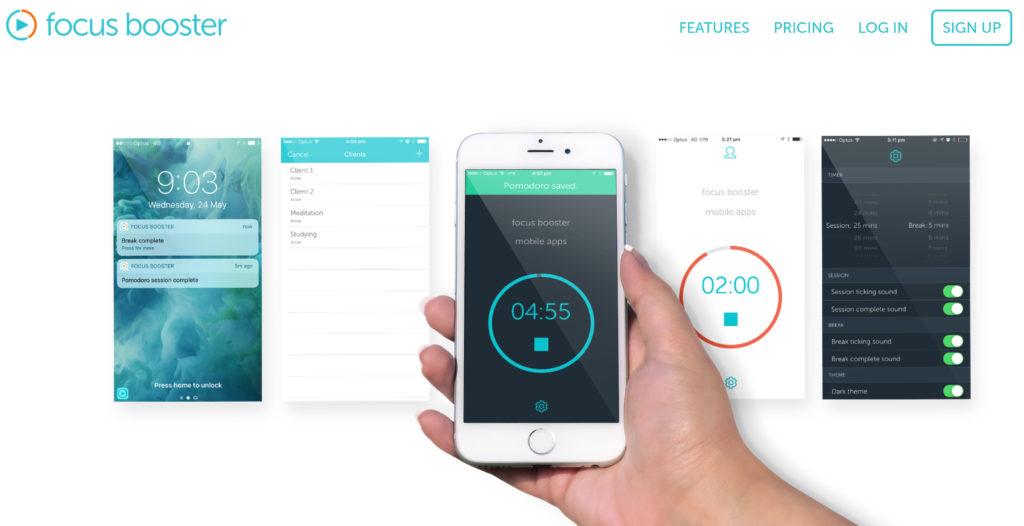 Ferramentas De Produtividade - Focus Booster