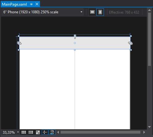 Controles UWP - CommandBar - inserindo via código