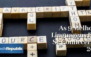 As 9 Melhores Linguagens Para Se Conhecer Em 2020