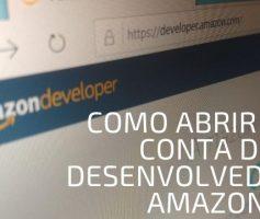 Como Abrir Uma Conta De Desenvolvedor Na Amazon