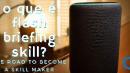 O Que É Skill Flash Briefing (Resumo De Notícias)?