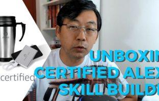 Unboxing – Programa de Incentivo Certified Alexa Skill Builder