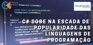 C# Sobe Na Escada De Popularidade Das Linguagens De Programação