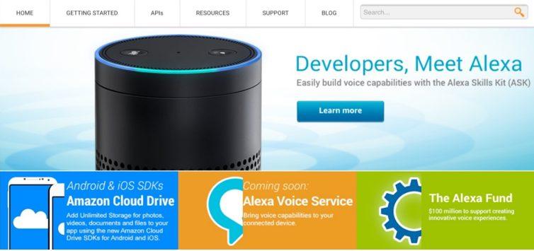 5 Anos Desenvolvendo Para Voz Com O Alexa Skills Kit - Alexa Developer Portal em 25 de junho de 2015