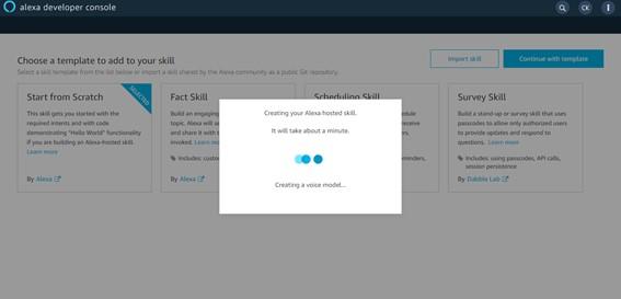 Provisionando recursos - Crie Sua Primeira Skill Alexa - 2021